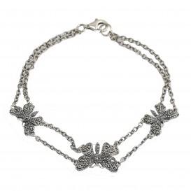 Bracelet argent 925 et Marcassites